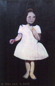 1994, Meisje 3 (Girl 3), Oil on Canvas, 80 x 120